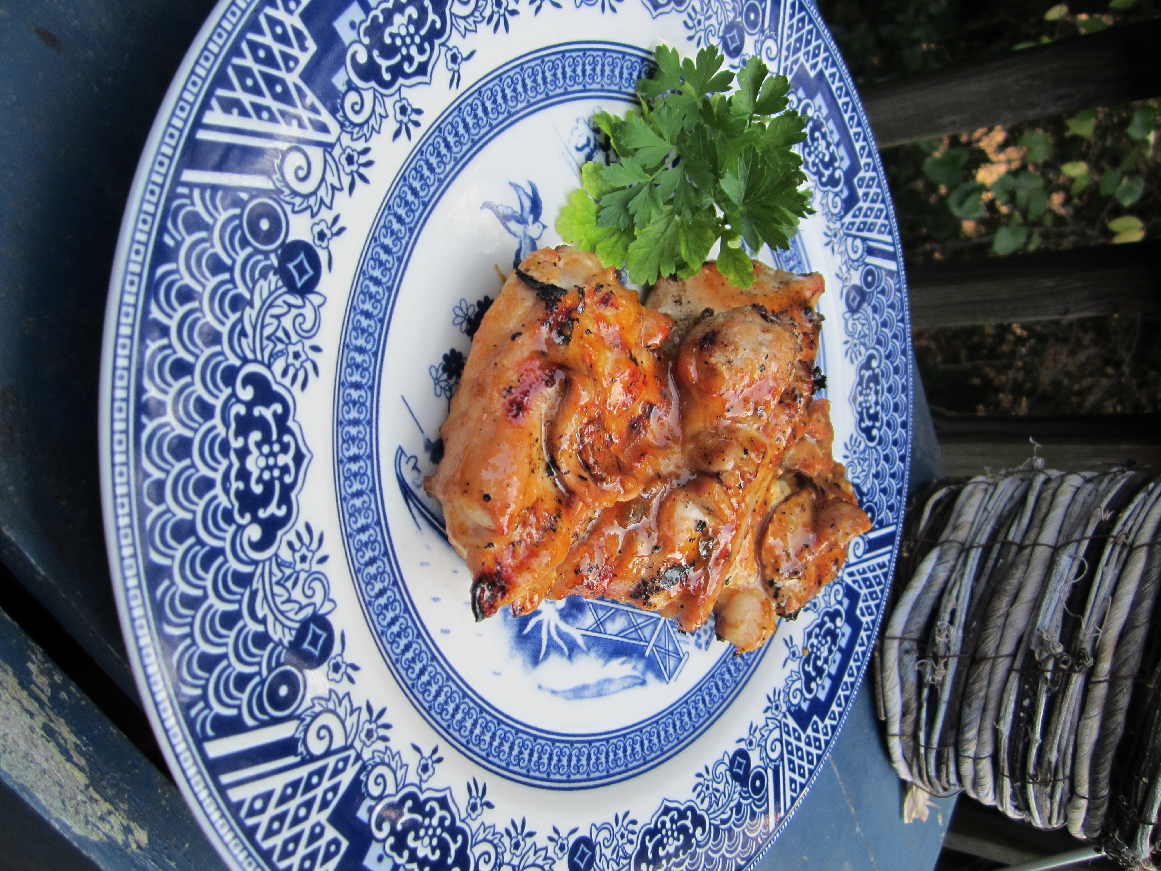 Grilled Chicken with Orange Molasses Glaze – personal life ...