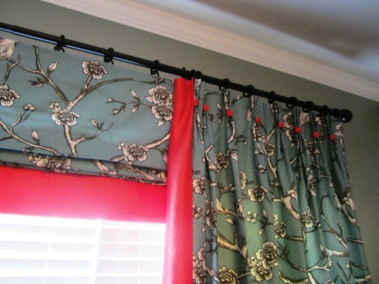 Curtains Ideas curtain rod roman shades : roman shade