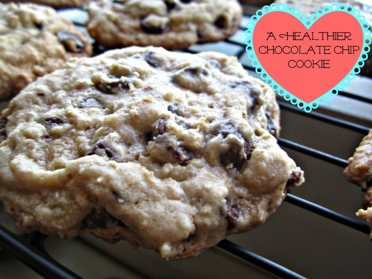 Butterless Chocolate Chip Cookie- heart healthy