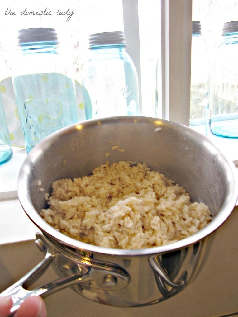 brown rice broccoli 3