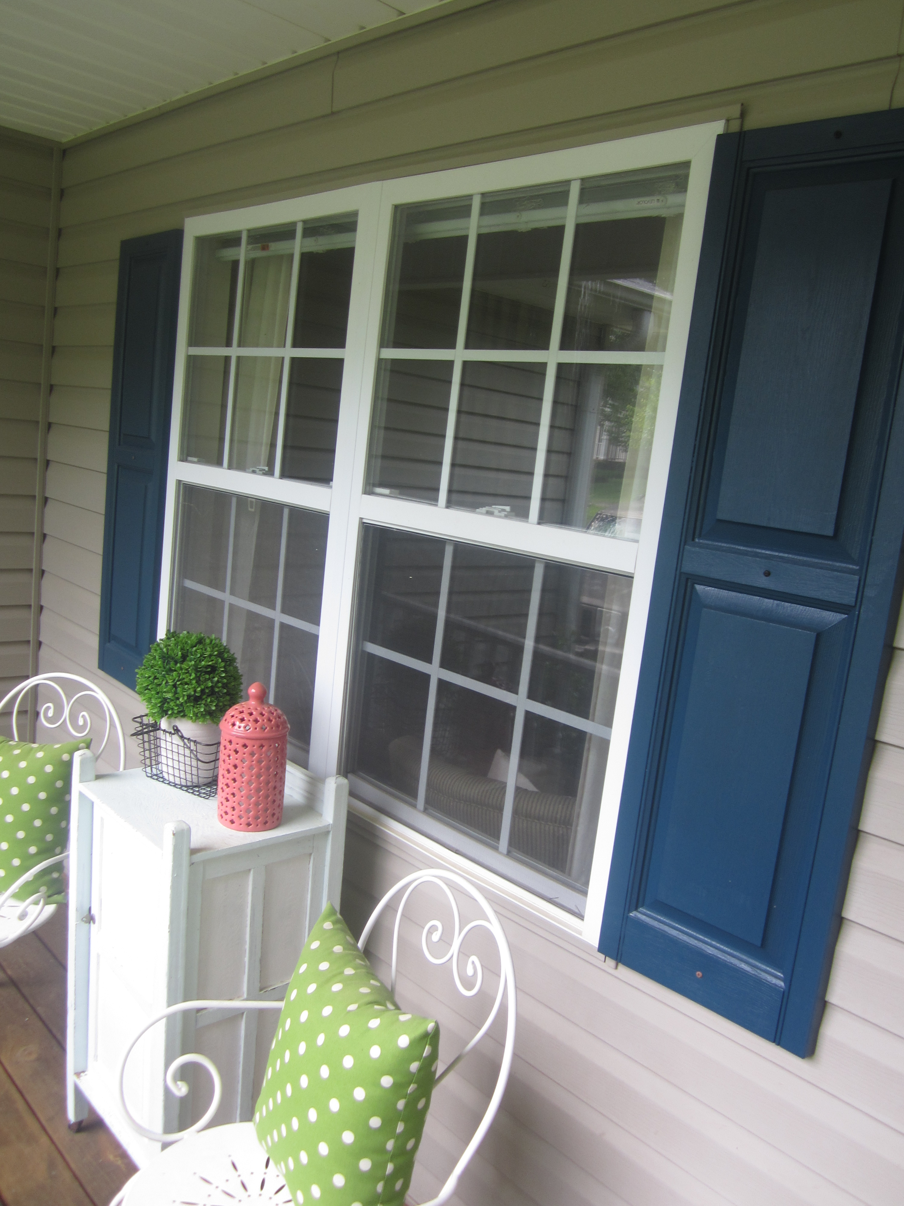 Home Improvement Our Little Front Porch Makeover