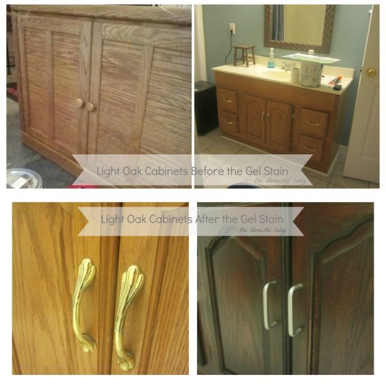Cleaning Kitchen Cabinets Before Painting: Home Improvement: How To Give Oak Cabinets And Furniture