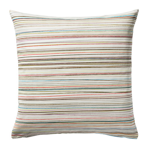 MALIN TRÅD Cushion cover, multicolor $4.00