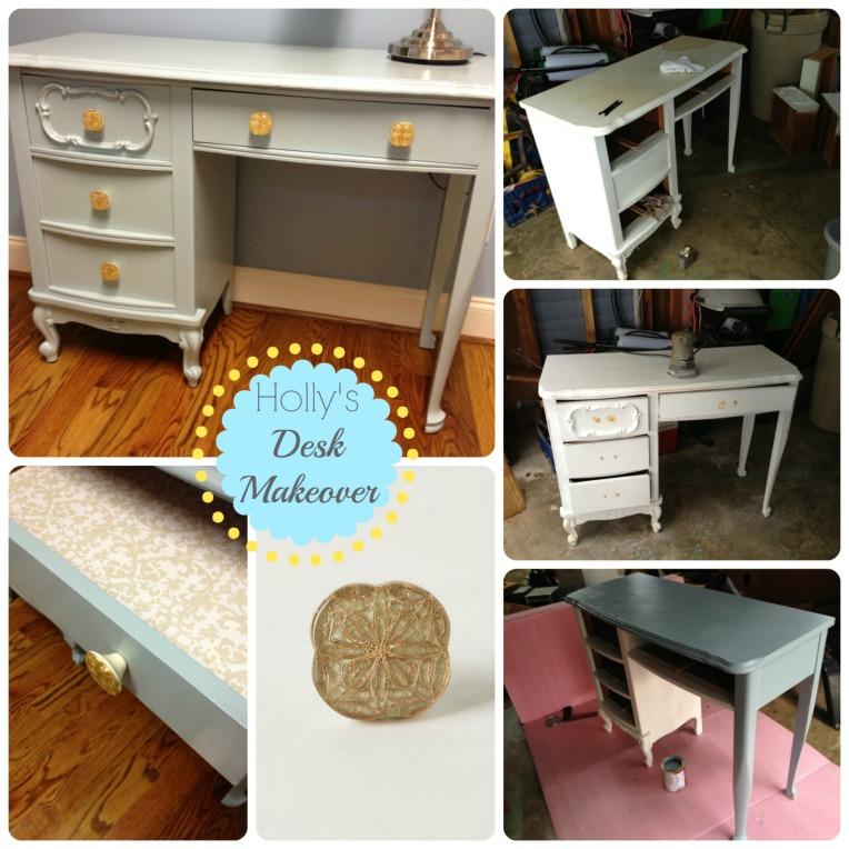 Hollys desk makeover