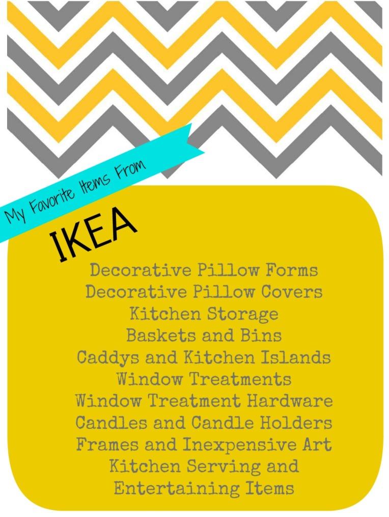Ikea buying list