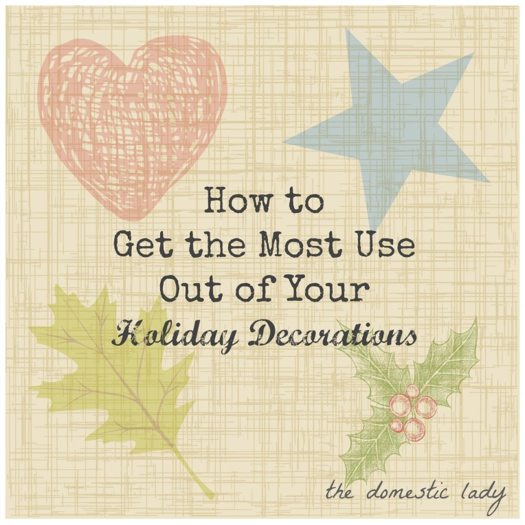 If you have ever been overwhelmed with the prospect of decorating for holidays this post is for you.