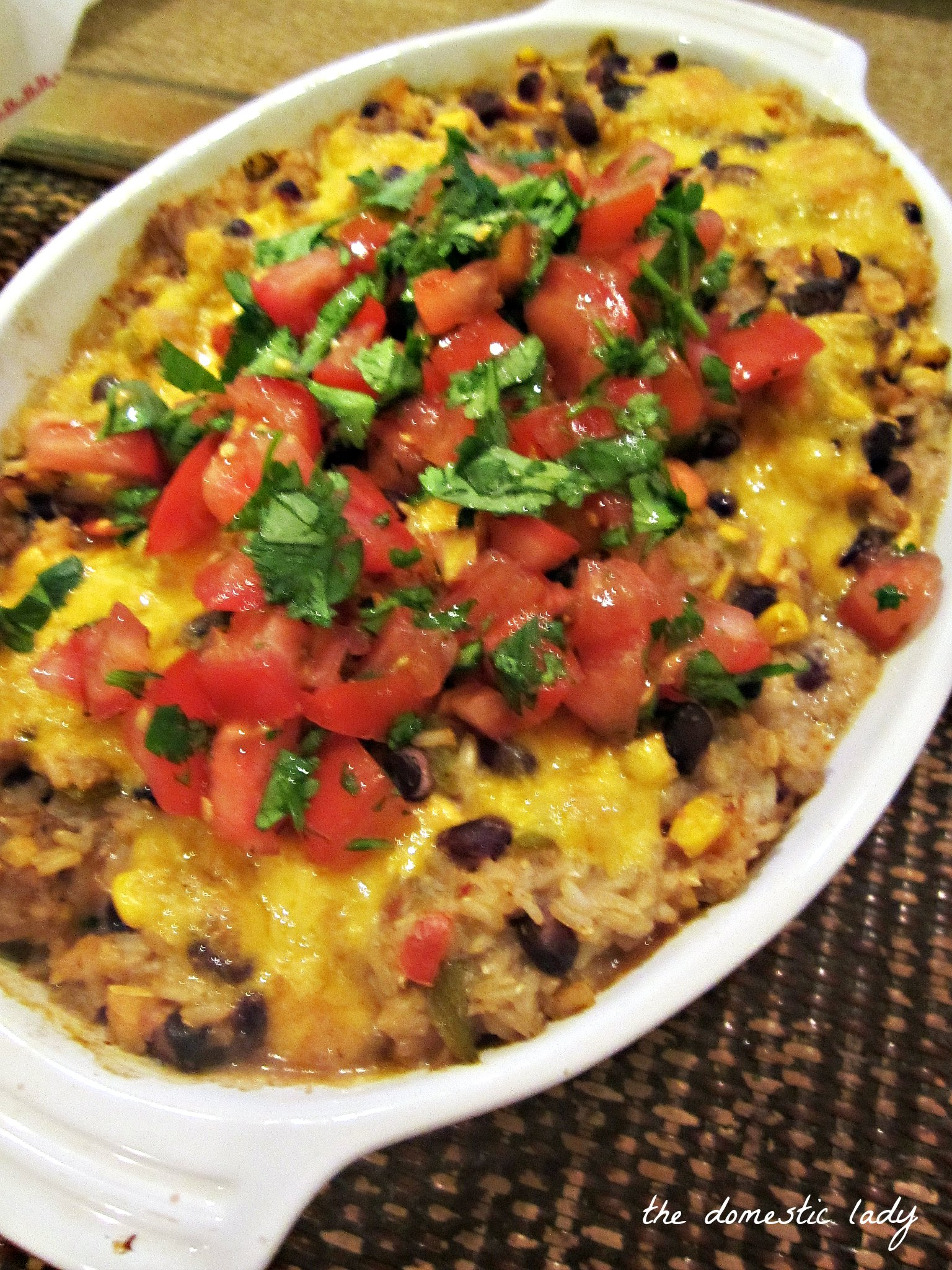 casserole mexican rice casserole affair with mexican food for mexican ...