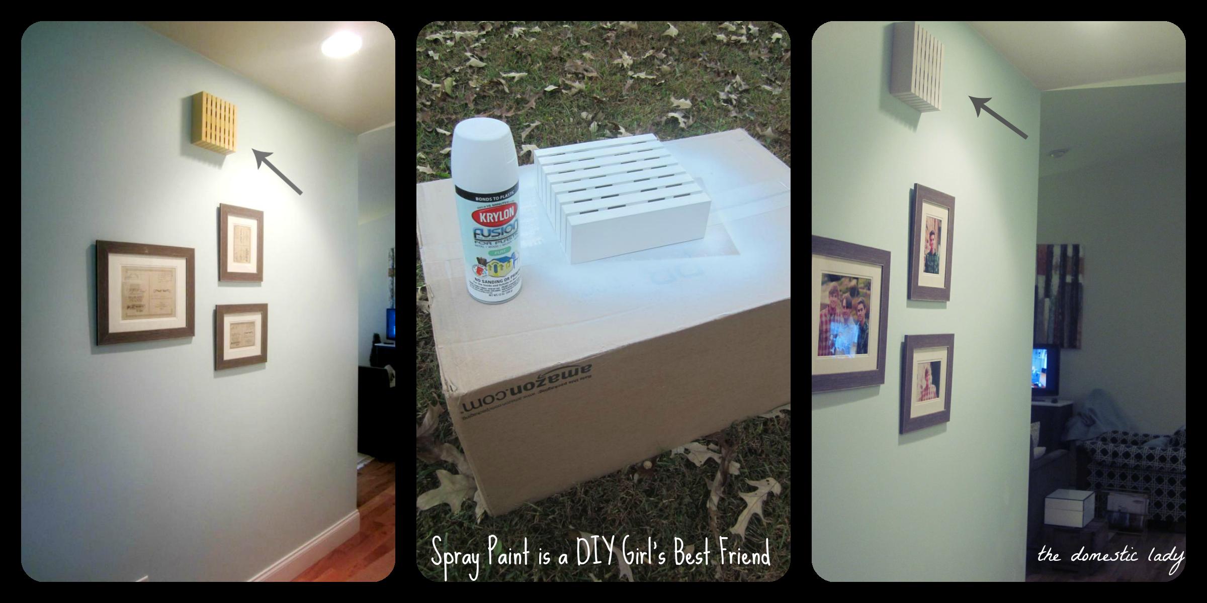 The Domestic Lady  Spray Paint Is A DIY Girlu0027s Best Friend