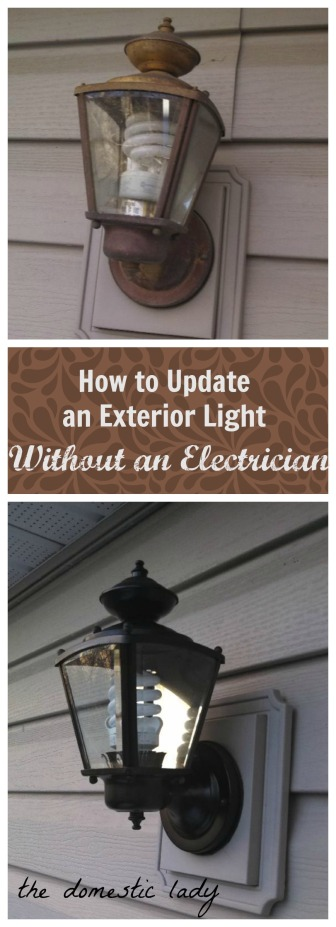 Updating Exterior Fixtures for FREE