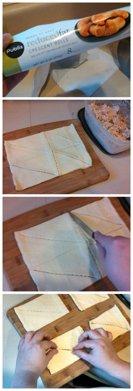 How to make chicken squares