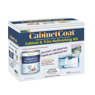Cabinet Coat 1-gal. Kit Includes White Trim and Cabinet Enamel