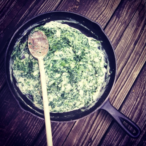Simple Creamed Spinach