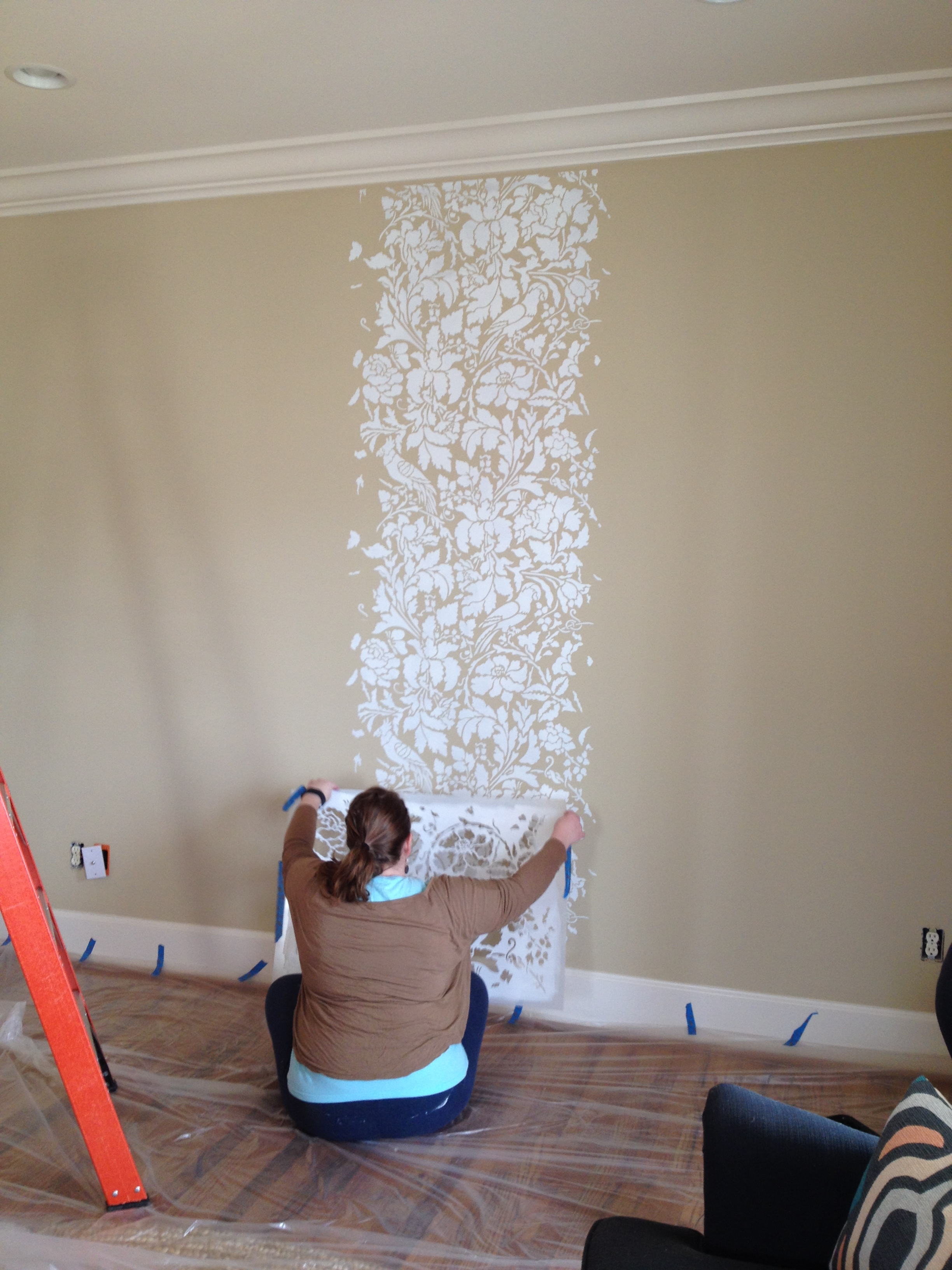 Home decorating personal life and small business blog by A wall painting